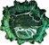 Travessa Bowl M vitória Régia funda verde  - Imagem 1