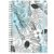Planner Permanente : Tropical Azul - Imagem 1