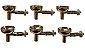 Eletrodo Precordial para ECG Kit com 6 Unidades - Imagem 1