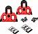 Taco Scada Vermelho Para Pedal Shimano Spd SL - 4.5º graus c/ parafusos Ref.745 - Imagem 1