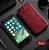 Capa Para iPhone 8 Plus de Couro Vermelho Ref.106 - Imagem 1