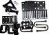 kit fixação completo para suspensão carreta truck - Imagem 1