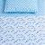Kit Jogo de Berço Menino Azul Carrinho Lençol 3 Peças Tamanho Padrão - Imagem 2