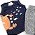 Roupa de Bebê Menino Conjunto de Verão Caranguejo Camiseta Marinho - Imagem 2