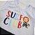Roupa de Bebê Menino Conjunto Animais Regata Camiseta Branca - Imagem 4