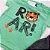 Roupa de Bebê Menino Conjunto Camiseta Verde Tigre e Bermuda  - Imagem 2