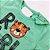 Roupa de Bebê Menino Conjunto Camiseta Verde Tigre e Bermuda  - Imagem 3