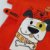 Roupa de Bebê Menino Camiseta Laranja Divertida Brincar - Imagem 3