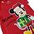 Body Manga Curta de Natal Mickey - Imagem 2