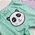 Conjunto 2 Bodies E Calça Estampa Panda Verde - Imagem 3