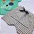 Roupa de Bebê Menino Verão Conjunto de Calor Dog Verde Kiko Baby - Imagem 3