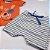 Roupa de Bebê Menino Verão Conjunto de Calor Dog Laranja Kiko Baby - Imagem 4