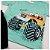 Conjunto Roupa de Bebê Infantil Calor Camiseta Bermuda Verde Carro - Imagem 3