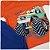 Conjunto Roupa de Bebê Infantil Calor Camiseta Bermuda Laranja Carro - Imagem 3