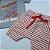 Conjunto Roupa de Bebê Infantil Calor Camiseta Bermuda Vermelho Dino - Imagem 5
