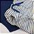 Conjunto Roupa de Bebê Calor Body Manga Curta Bermuda Saruel Azul Escuro - Imagem 3