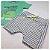 Conjunto Roupa de Bebê Infantil Calor Camiseta Bermuda Verde Dino - Imagem 5