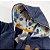 Macacão Moletom Peluciado Touca Forrada Zíper – Azul - Imagem 4