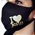 Máscara de proteção Higiênica reutilizável |I Love Jesus| - Imagem 1