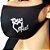 Máscara de proteção Higiênica reutilizável |Deus é fiel prata| - Imagem 1