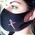 Máscara de proteção Higiênica reutilizável |Fé Rosa| - Imagem 1