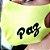 Máscara de proteção Higiênica reutilizável |Paz Verde Neon| - Imagem 1