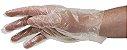 Luva Descartavel Plástica Cx c/ 100 Pcts - BeCare - Imagem 2