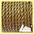 Cordão de São Francisco 6mm Ouro Metro - Imagem 1