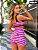 Conjunto emoji rosa short - Imagem 3