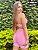 Conjunto brocado rosa bb short normal  - Imagem 7