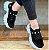 Tênis Feminino Chunky Sneaker Nobuck Pedraria - Preto - Imagem 1