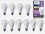 Kit 10 LED Bulb 13.5W (100W) E27 3000K (Quente) A67 100 -240 V PHILIPS - Imagem 1