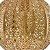 Pendente Em Metal Antique 6527 - Mart - Dourado - Imagem 3