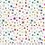 Tricoline Estrelinhas claro, 100% Algodão, Unid. 50cm x 1,50mt - Imagem 1