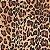 Tricoline Oncinha, 100% Algodão, Unid. 50cm x 1,50mt - Imagem 1