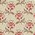 Tricoline Floral Arabesque, 100% Algodão, Unid. 50cm x 1,50mt - Imagem 1