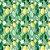 Tricoline Limão e Folhas, 100% Algodão, Unid. 50cm x 1,50mt - Imagem 1