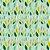 Tricoline Folhas de Limão, 100% Algodão, Unid. 50cm x 1,50mt - Imagem 1