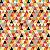 Tricoline Geométrico Triângulos  - 100% Algodão, Unid. 50cm x 1,50mt - Imagem 1