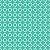 Tricoline Neutro Jardim de Borboletas (Verde), 100% Algodão, Unid. 50cm x 1,50mt - Imagem 1