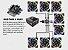 Cabo Hub Multi Fan Até 8 Coolers Controla Fans de 3 Pinos - Imagem 2
