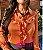 CAMISA COM BABADOS FERRUGEM – CM21154  - Imagem 2