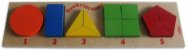 Brinquedo de Madeira Geobrincando Carimbras - Brinquedo Educativo em Madeira - Imagem 1