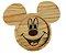 Prato Infantil Ecológico Madeira Linha Kids - Mickey - Imagem 1