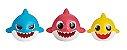 Baby Shark pack com 3 figuras de banho - Imagem 2