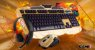 Kit Teclado e Mouse e Headset Gamer V-100 BlackLight - Imagem 2