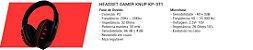 COMBO G7 RACE TECLADO + HEADSET + MOUSE + MOUSEPAD - Imagem 5