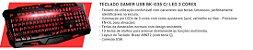 COMBO G7 RACE TECLADO + HEADSET + MOUSE + MOUSEPAD - Imagem 2