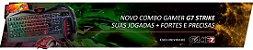 COMBO G7 STRIKE TECLADO + HEADSET + MOUSE + MOUSEPAD - Imagem 2