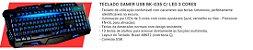 COMBO G7 FURY TECLADO + HEADSET + MOUSE + MOUSEPAD - Imagem 3